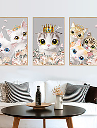 cheap -Photo Frame Cute Cat Wall Stickers - Plane Wall Stickers Transportation / Landscape Study Room / Office / Dining Room / Kitchen