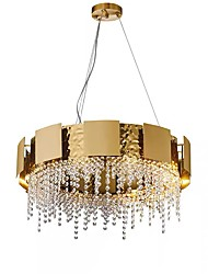 cheap -QIHengZhaoMing 8-Light Chandelier Ambient Light Painted Finishes Crystal 110-120V / 220-240V