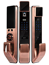 cheap -ES-S115 ABS+PC lock / Intelligent Lock Smart Home Security System Fingerprint unlocking / Password unlocking / APP unlocking Home / Office Security Door (Unlocking Mode Fingerprint / Password / APP)