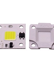 cheap -1pc 10W Mini DIY Free Drive SMD Smart IC LED Flip chip AC 220V White Warm White for DIY LED Flood Light Spotlight