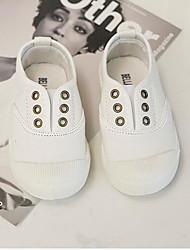 cheap -Girls' Comfort Canvas Loafers & Slip-Ons Toddler(9m-4ys) / Little Kids(4-7ys) White / Black Summer