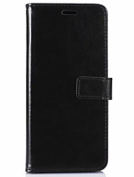 cheap -Case For OnePlus One Plus 7 Wallet / Card Holder / with Stand Full Body Cases Solid Colored Soft PU Leather