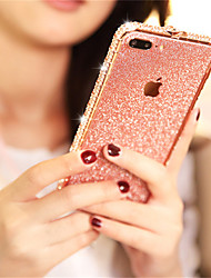 cheap -Case For Apple iPhone XR / iPhone XS / iPhone XS Max Rhinestone / Glitter Shine Back Cover Glitter Shine Hard Metal