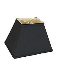 cheap -Traditional / Classic Eye Protection / Decorative Lampshade For Study Room / Office / Shops / Cafes Fabric Black / White / Yellow