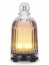abordables -vase en verre aromathérapie humidificateur ultrasonique lampe muette ménage purification de l'air diffuseur d'huile essentielle