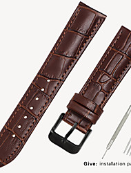cheap -Leather strap men's leather watch with bracelet accessories ladies substitute dw Tissang Longines Cassi Europe and the United States King 16/18/19/20mm
