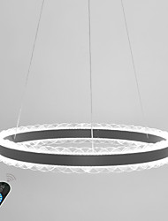 cheap -Modern LED Ceiling Light/ Novelty Lamp for Bedroom Office Room Adjustable/ Warm White/ White/ Stepless Dimmable/ WIFI Smart works with Google Home Play and Amazon Echo Dia 60CM