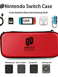 cheap -Nintendo NS Carrying Case Multi-in-one Compartment Portable Travel Game Pack Nintendo Switch Bag Kits