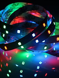 cheap -1pc IP20 RGB 300 LED Strip Light 5m 60LEDs/M SMD 2835 8mm White Warm White Yellow Red Green Blue LED Strip 12V  Linkable / Self-Adhesive / TV Background Flexible Tape Rope Stripe