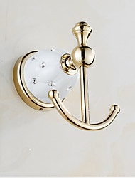 cheap -Robe Hook Creative Metal 1pc - Bathroom Wall Mounted
