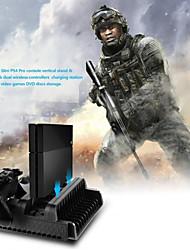 Недорогие -LITBest Зарядные устройства / Воротник-стойка / Вентиляторы   Назначение PS4 / Sony PS4 / PS4 Тонкий ,  Зарядные устройства / Воротник-стойка / Вентиляторы   ABS 1 pcs Ед. изм