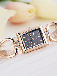 cheap -Ladies Quartz Watches Elegant Fashion Silver Rose Gold Alloy Chinese Quartz Golden+Black Golden+White Silver / Black New Design Casual Watch 1 pc Analog One Year Battery Life