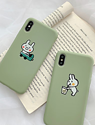 cheap -Case For Apple iPhone XS Max / iPhone 6 Card Holder Back Cover Animal Soft Silicone