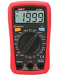 Недорогие -uni-t ut33b ручной цифровой мультиметр с температурной емкостью ncv cat ll 600v