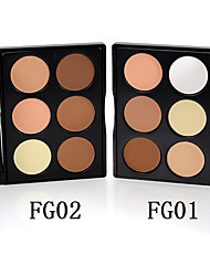 cheap -6 Colors 1 pcs Dry Coverage / Long Lasting / Brightening Daily / Highlighter China Glamorous & Dramatic / Traditional Crystal / lasting Practice / Beginner Makeup Cosmetic