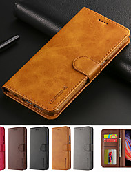 cheap -lc.imeeke Leather Case for apple iPhone 12 11 xr xs max flip card holder full body cases solid colored soft pu leather xs x 8 8 plus 7 7 plus 6 6 plus 6s 6s plus