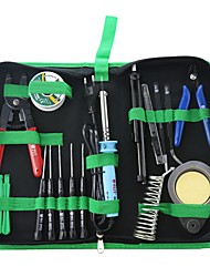 cheap -BST-113B 16pcs Multi-function Opening Pry Repair Tool set cell phone repair screwdriver set Electric Soldering Iron Tool Kit set