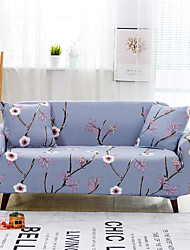 cheap -Flowers And Plants Print Dustproof All-powerful Slipcovers Stretch Sofa Cover Super Soft Fabric Couch Cover with One Free Pillow Case