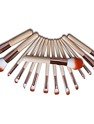 cheap -Professional Makeup Brushes 15pcs Full Coverage Comfy Artificial Fibre Brush Wooden / Bamboo for Makeup Brush