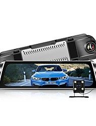 cheap -Factory OEM G900 1080p Anti Fog Car DVR 170 Degree Wide Angle 4 inch IPS Dash Cam with Parking Monitoring / Loop recording Car Recorder