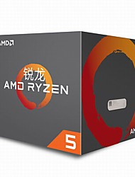 cheap -AMD CPU Computer Processor R5 1400 AM 4 Cores 8 3.2GHz/3.4GHz