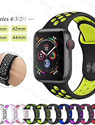 cheap -Smartwatch Band for Apple Watch Series 5/4/3/2/1 Apple Sport Band Silicone Wrist Strap