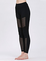 cheap -Women's High Waist Yoga Pants Leggings Butt Lift Yan pink Black Royal Blue Running Fitness Sports Activewear High Elasticity