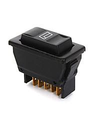 cheap -Universal 5 Pin Car Power Window Control ON/OFF SPST Rocker Switch Master DC 12V