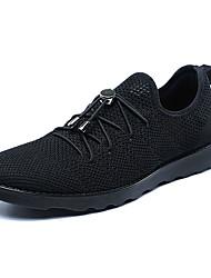 cheap -Men's Comfort Shoes PU Summer Athletic Shoes Walking Shoes Black