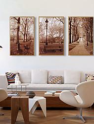 cheap -Framed Art Print Framed Set - Landscape PS Illustration Wall Art