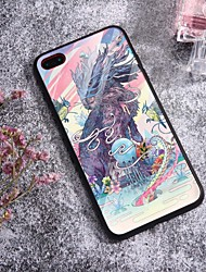 cheap -Case For iPhone X XS Max XR XS Back Case Soft Cover TPU Fashion Illustration style dragon Soft TPU for iPhone5 5s SE 6 6P 6S SP 7 7P 8 8P