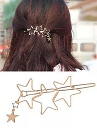 cheap -Women's Fashion Cute Alloy Daily - Solid Colored