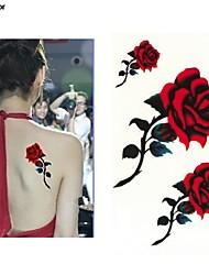 Недорогие -10 pcs Временные татуировки Защита от влаги / Лучшее качество руки / плечо / назад Временные тату