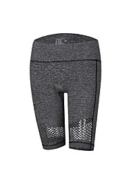 abordables -Femme Taille Haute Pantalon de yoga Bloc de Couleur Course / Running Fitness Entraînement de gym Cuissard  / Short Tenues de Sport Séchage rapide Butt Lift Contrôle du Ventre Power Flex Elastique Slim