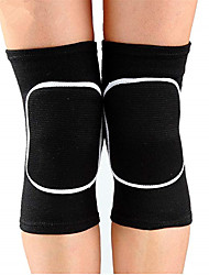 cheap -Knee Brace Knee Pads for Yoga Running Outdoor Washable Padded Fabric Cotton Blend One Pair × 2 Training Sports Black Blue Grey
