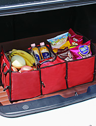 cheap -Hot Sale Car Trunk Organizer Bag Travel Storage Bag Food Cooler Box Car Stowing Styling Waterproof Interior Cargo Container