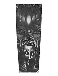 cheap -1 pcs Temporary Tattoos Universal / Creative / Soft touch brachium Nylon Sleeve Tattoos