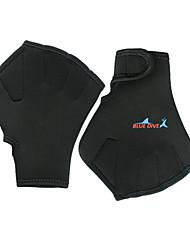 cheap -Aquatic Gloves Swimming Gloves Medium Nylon Neoprene Webbed Paddle Glove Durable Swimming Snorkeling / Winter