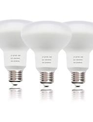 abordables -zdm 3pc r80 e27 / e26 ampoule de champignon 18w 1550 lm smd 2835 nouveau design décoratif blanc froid ac220v