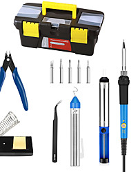 cheap -Electric Iron Tool Kit For Repairing Computer Mobile Phone Home Office Portable Electric Soldering Iron