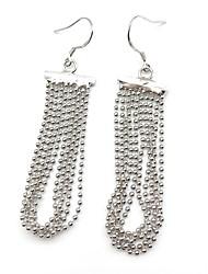 cheap -Women's Drop Earrings Tassel Earrings Jewelry Silver For Daily 1 Pair