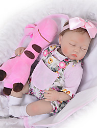 cheap -Reborn Doll Baby Girl 18 inch Silicone - Kids / Teen Adorable Lovely Kid's Unisex Toy Gift