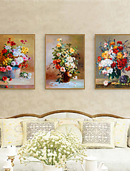 cheap -Framed Art Print Framed Set - Floral / Botanical PS Illustration Wall Art