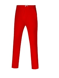 cheap -Men's Pants / Trousers Golf Workout Athleisure Outdoor Autumn / Fall Winter / High Elasticity / Thermal / Warm / Solid Color