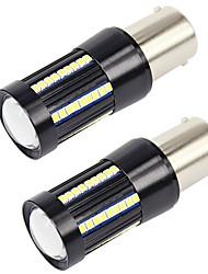 cheap -2PCS 10W Car BA15S Light Opel Citroen Skoda Lotus DRL 1156 Regular CAN-bus LED Bulb