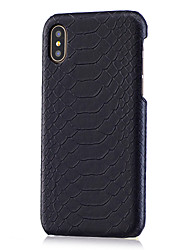 cheap -Case For Apple iPhone XS / iPhone XR / iPhone XS Max DIY Back Cover Animal Hard PU Leather