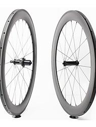 cheap -FARSPORTS 700CC Wheelsets Cycling 23 mm Road Bike Polycarbonate / Carbon Fiber Tubular 20/24 Spokes 60 mm