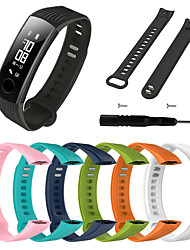 cheap -Watch Band for Honor Band 3 Huawei Sport Band / DIY Tools Silicone Wrist Strap