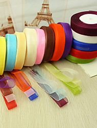 cheap -Luxury / Solid Colored Organza Wedding Ribbons Piece/Set Organza Ribbon / Wedding Accessories Wedding Party Decoration