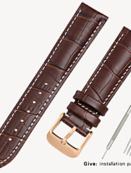 cheap -Substitution Tissot 1853 Men's Leather Watch with Locke Women's Leather Casio Longines Bracelet Accessories 14/16/18/19mm